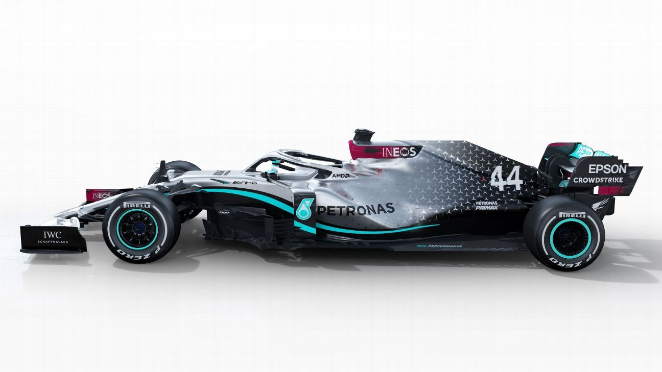 First images of new Mercedes F1 car released