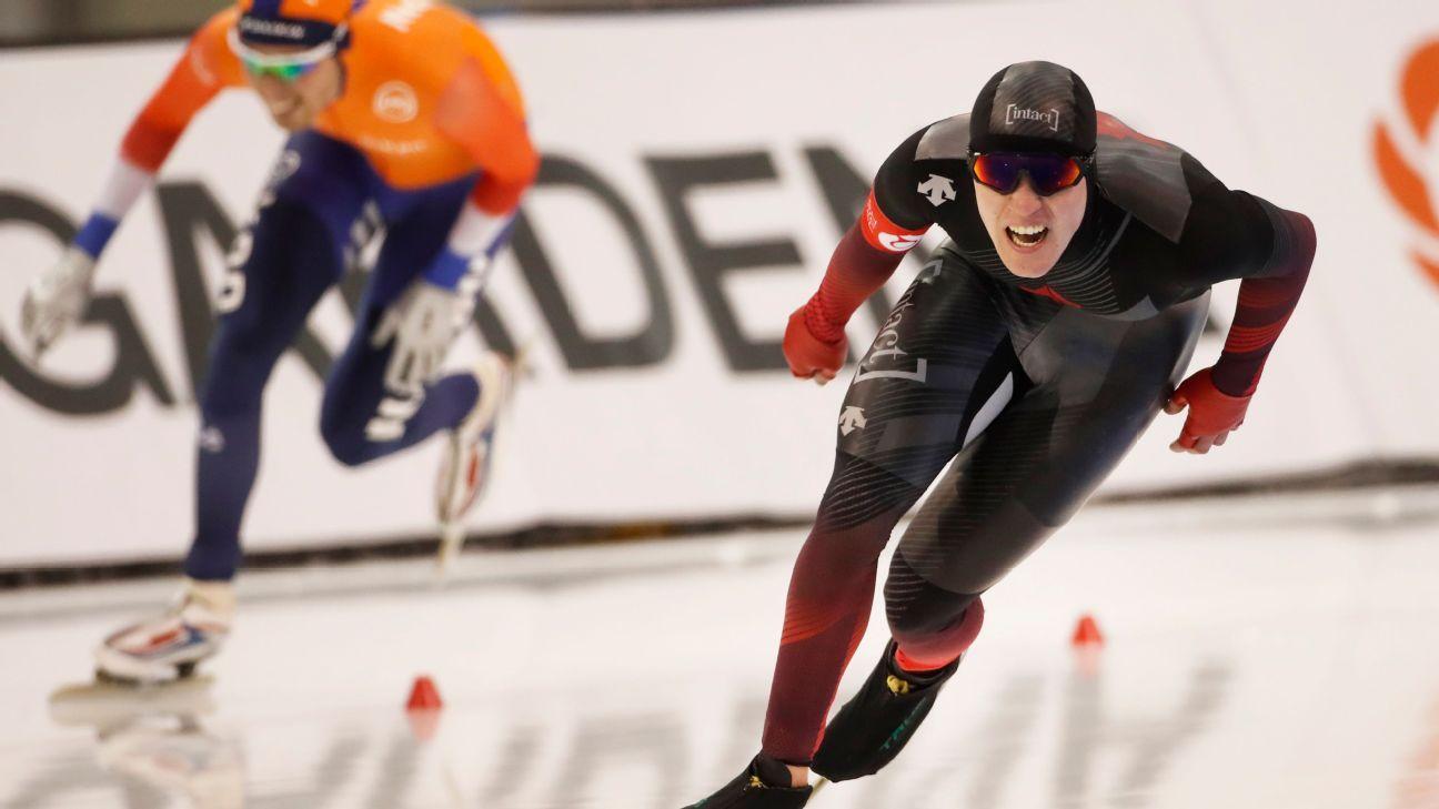 Speedskater Fish sets world mark in 10,000m