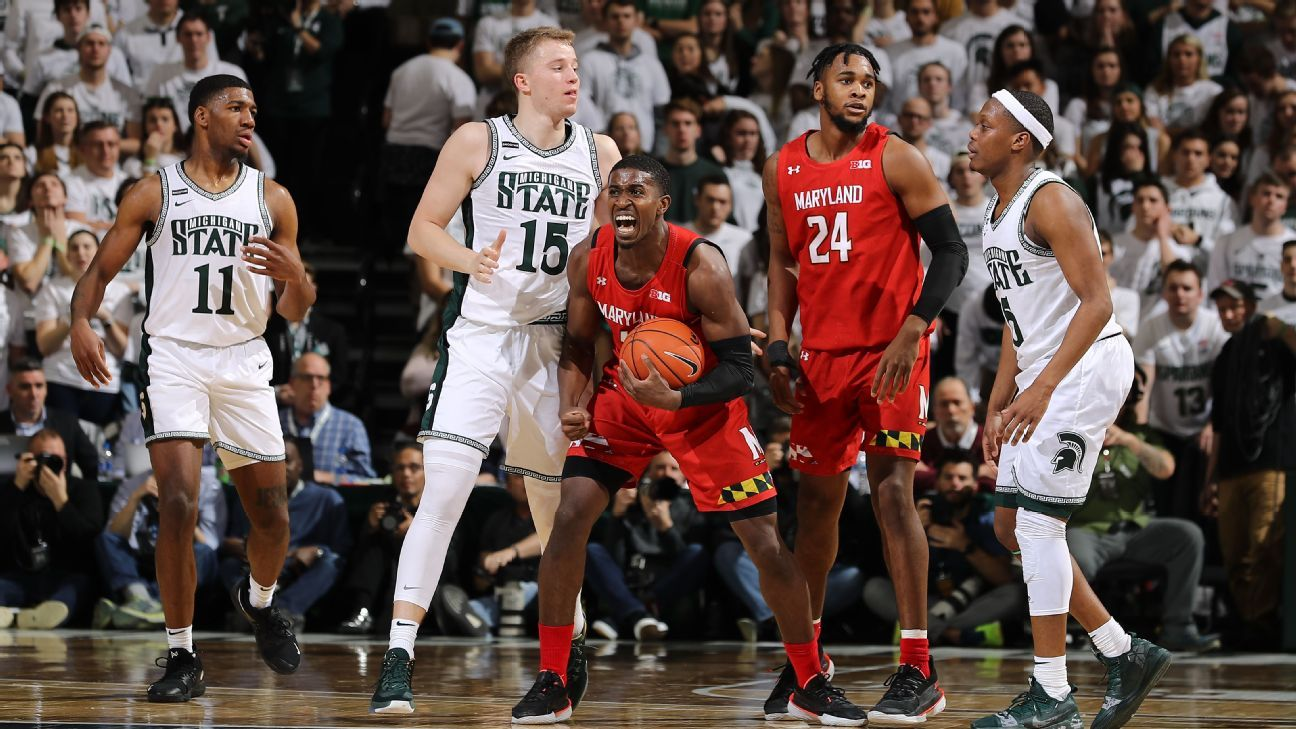 For 3: Maryland sends a message with statement win at Michigan State