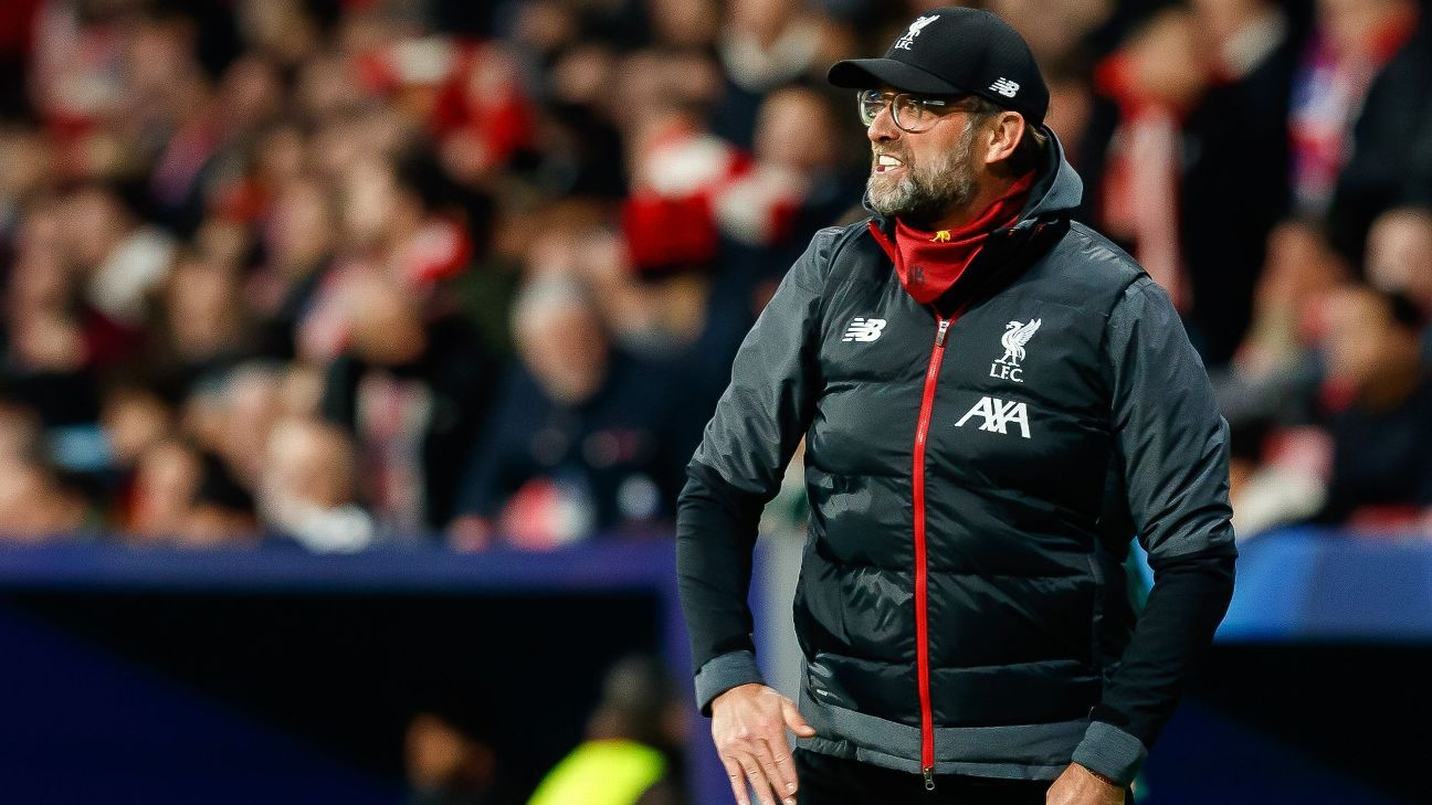 Sources: Atletico fuming at Klopp accusations
