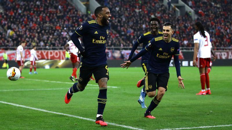 Olympiakos vs. Arsenal - Football Match Report - February 20, 2020 - ESPN