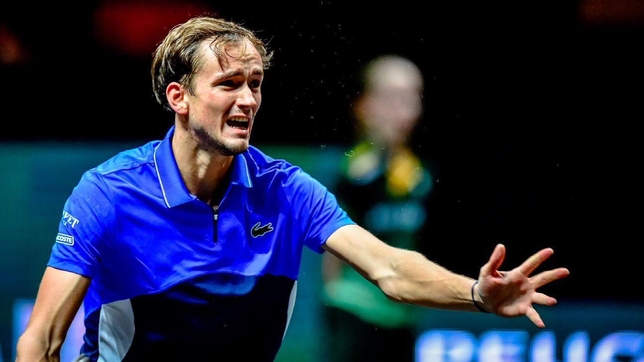 Medvedev loses to Simon in Open 13