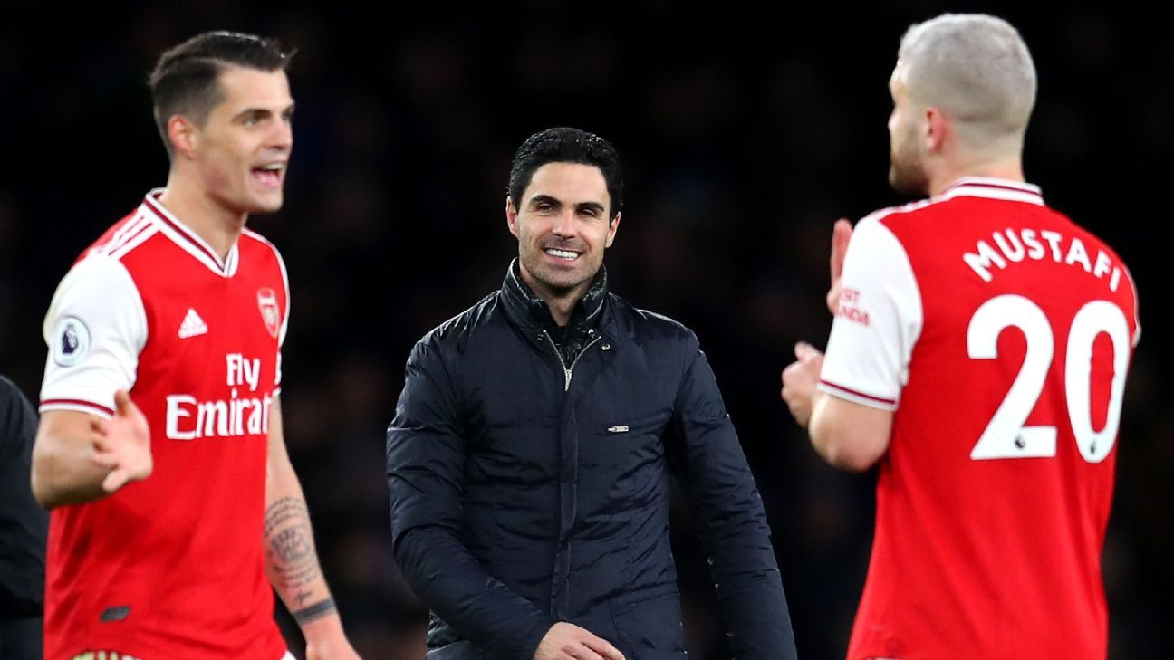 Arsenal have turned the corner under Arteta