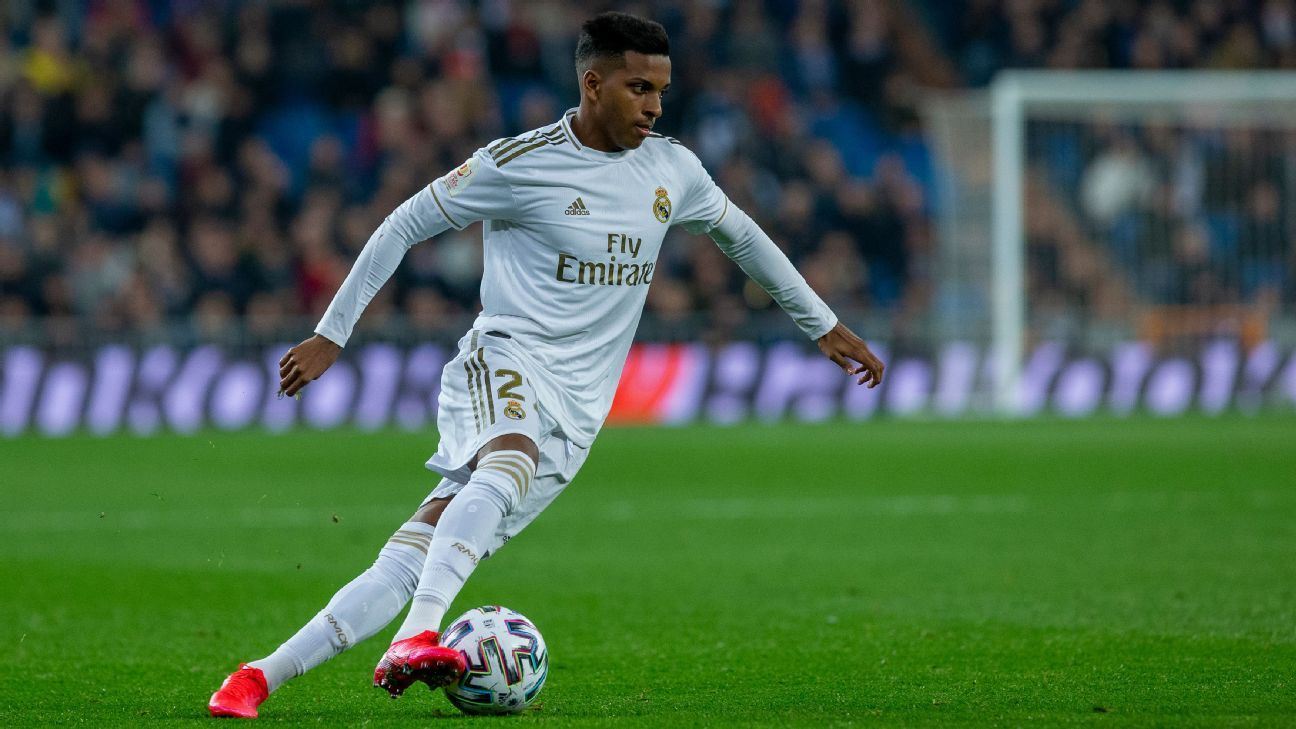 Real's Rodrygo out of 'Clasico' after Castilla red