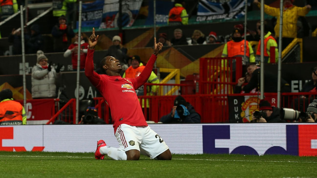 High of Man United's Europa League progression offset by Martial's injury as Ighalo thrust into the limelight - ESPN