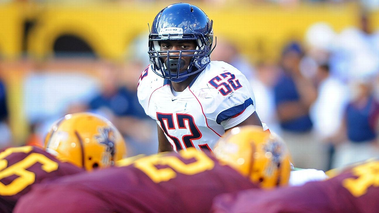 Former Arizona LB Lewis dies from Valley fever