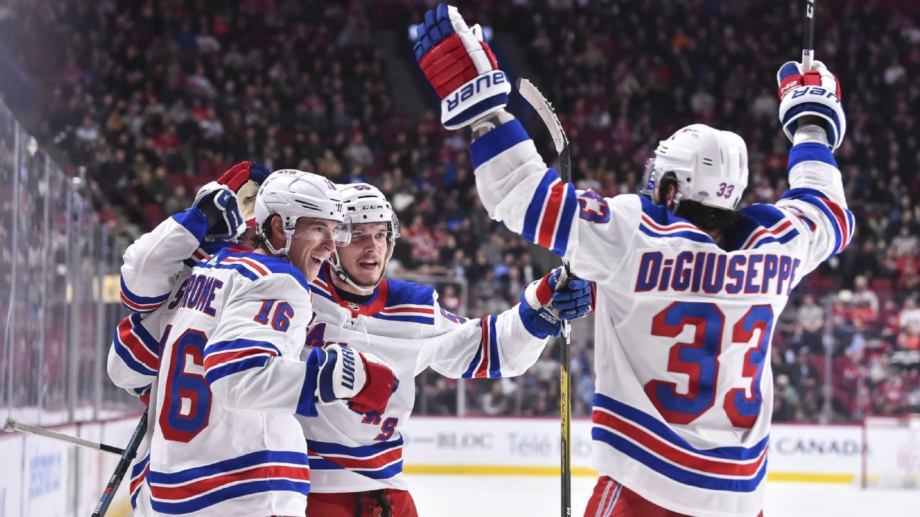 NHL playoff bracket update: Here come the Rangers