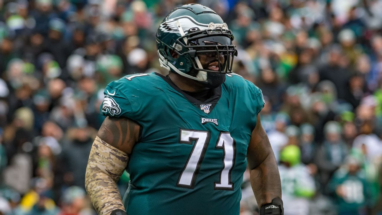 Source — Eagles' Jason Peters to play through toe injury vs. Seahawks despite needing postseason surgery – ESPN