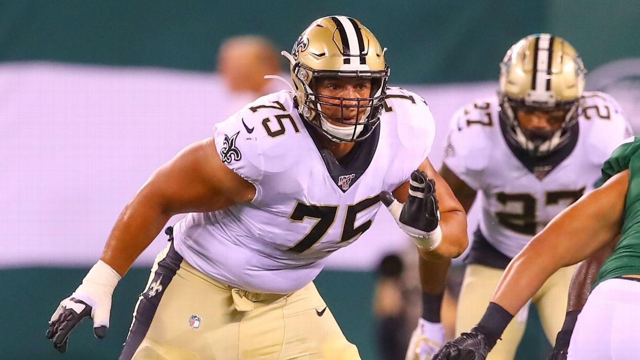 Is Andrus Peat expendable for cap-strapped Saints?