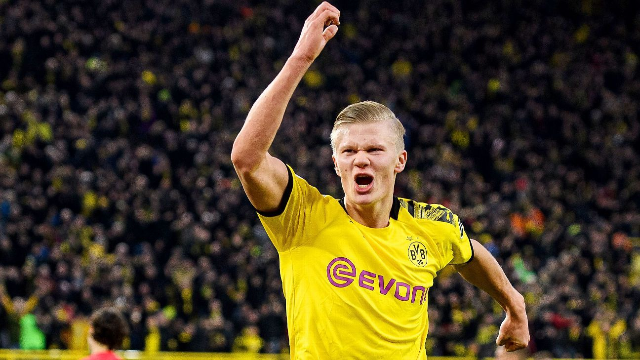 Man Utd to battle Real Madrid for Dortmund's Haaland - sources - ESPN