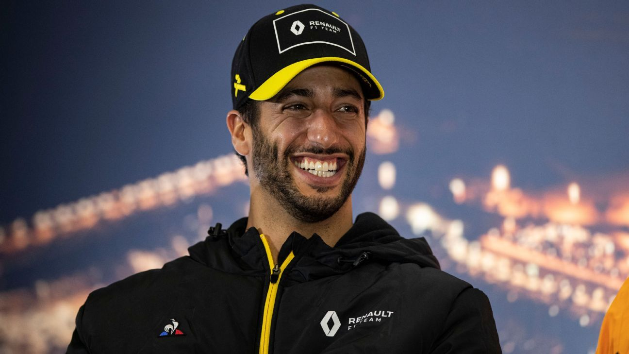 Ricciardo to join McLaren in 2021