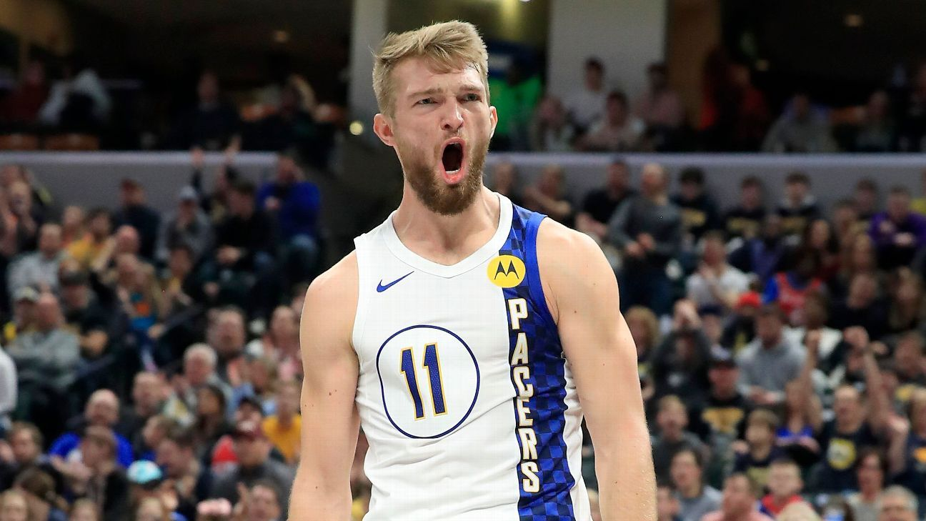 Indiana Pacers' Domantas Sabonis to replace Kevin Durant in All-Star Game - ESPN