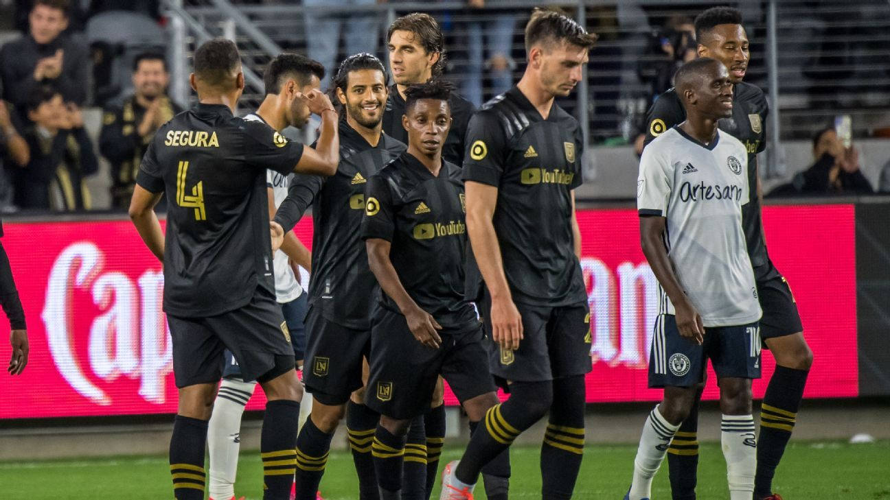 MLS Power Rankings: LAFC on top, Sporting KC rises as Seattle, NYCFC fall