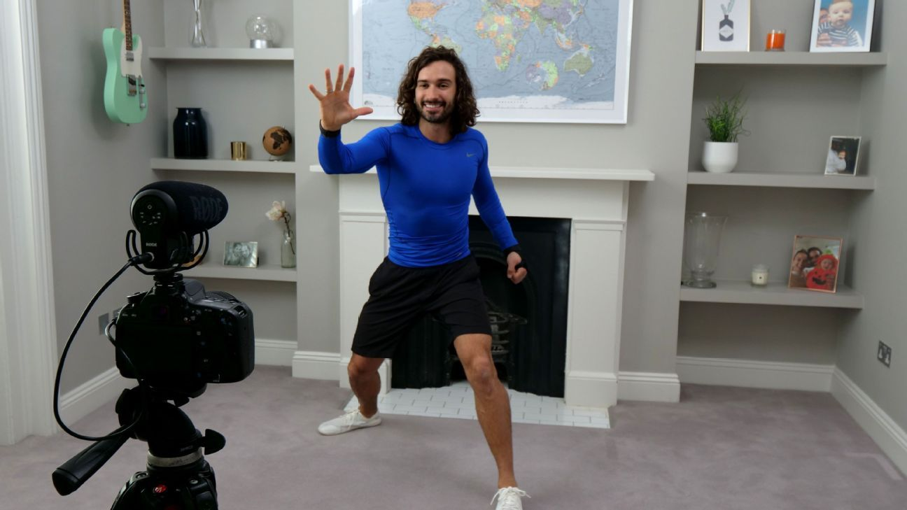 Joe Wicks' world: How the UK's P.E. teacher went global