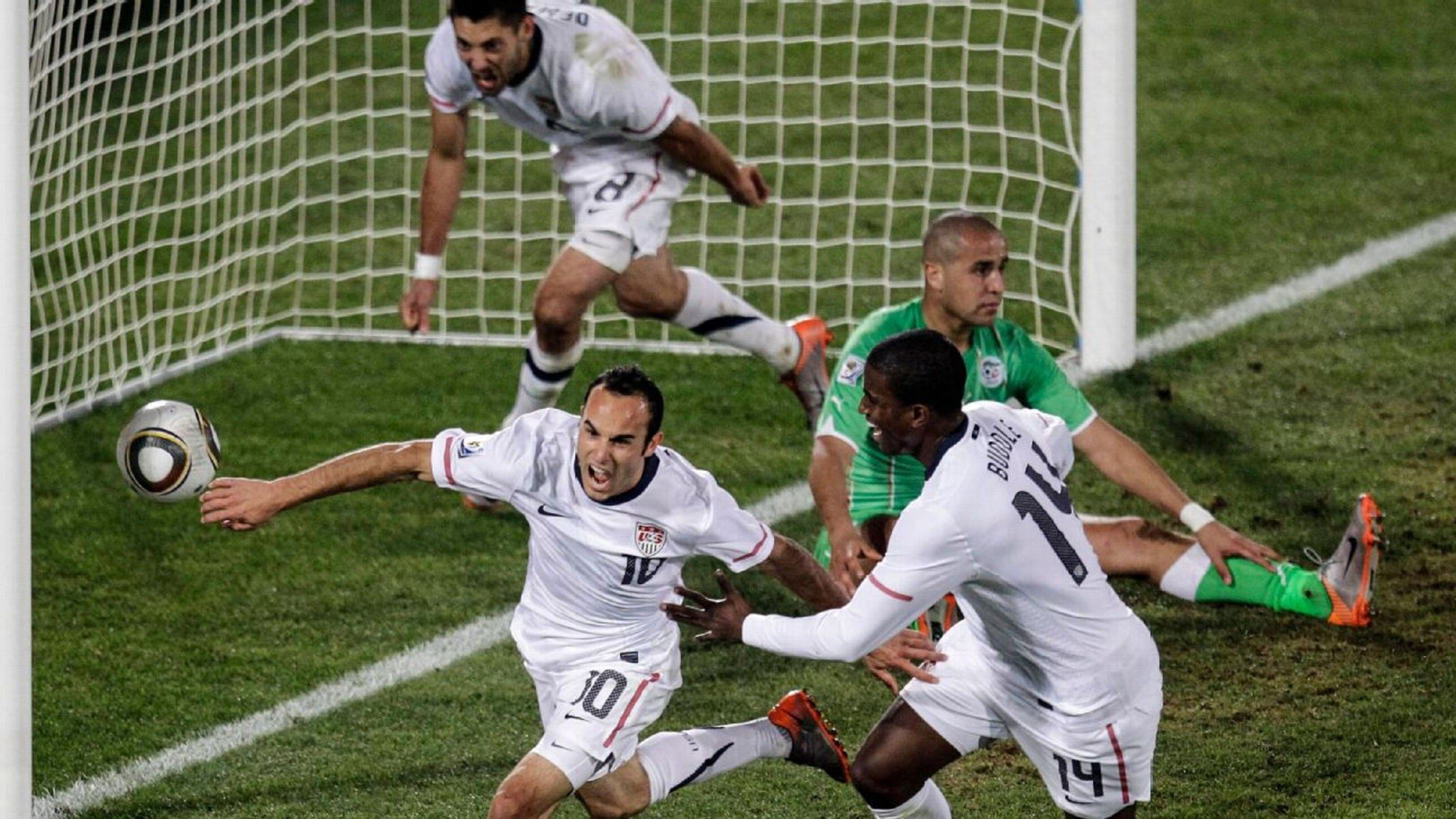 I was there: Donovans late World Cup heroics