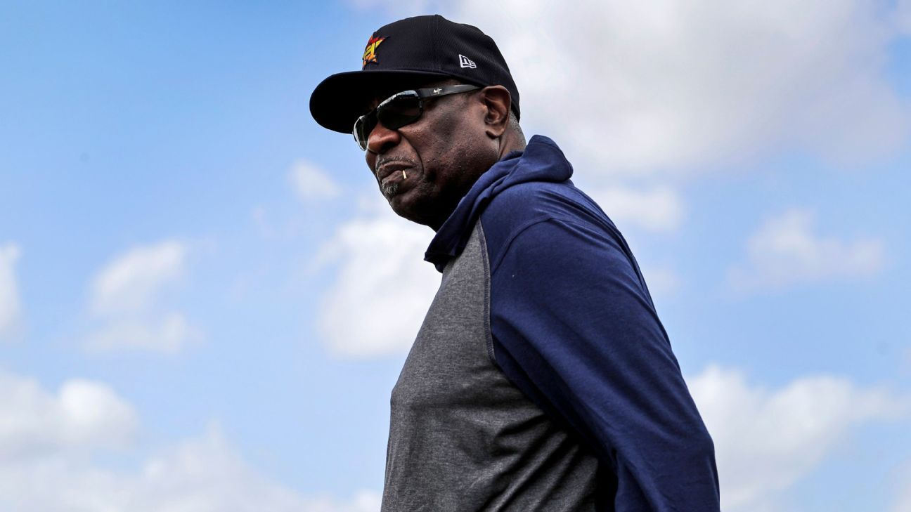 Houston Astros manager Dusty Baker says sign-stealing allegations by Chicago White Sox are 'heavy accusations'