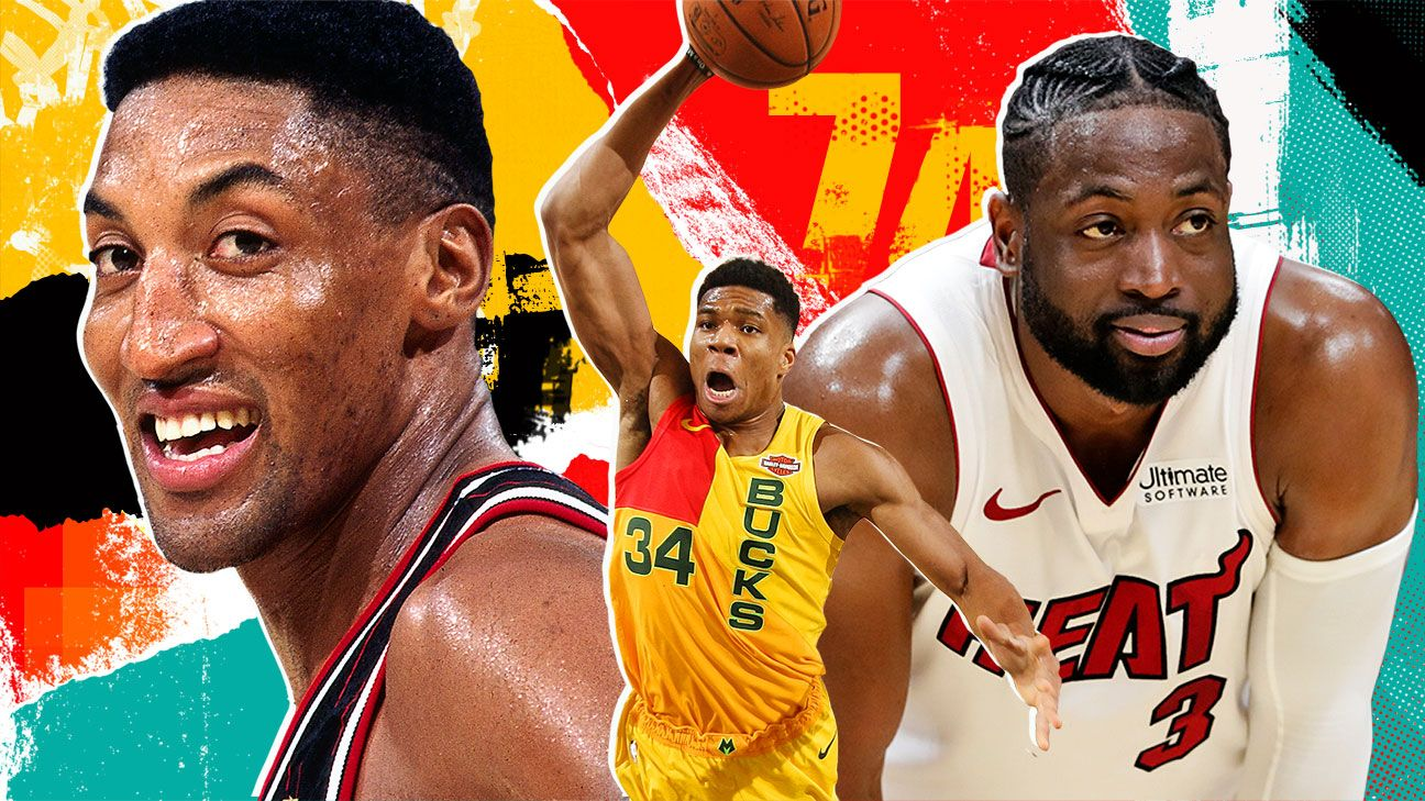 Ranking the top 74 NBA players of all time: Nos. 40-11