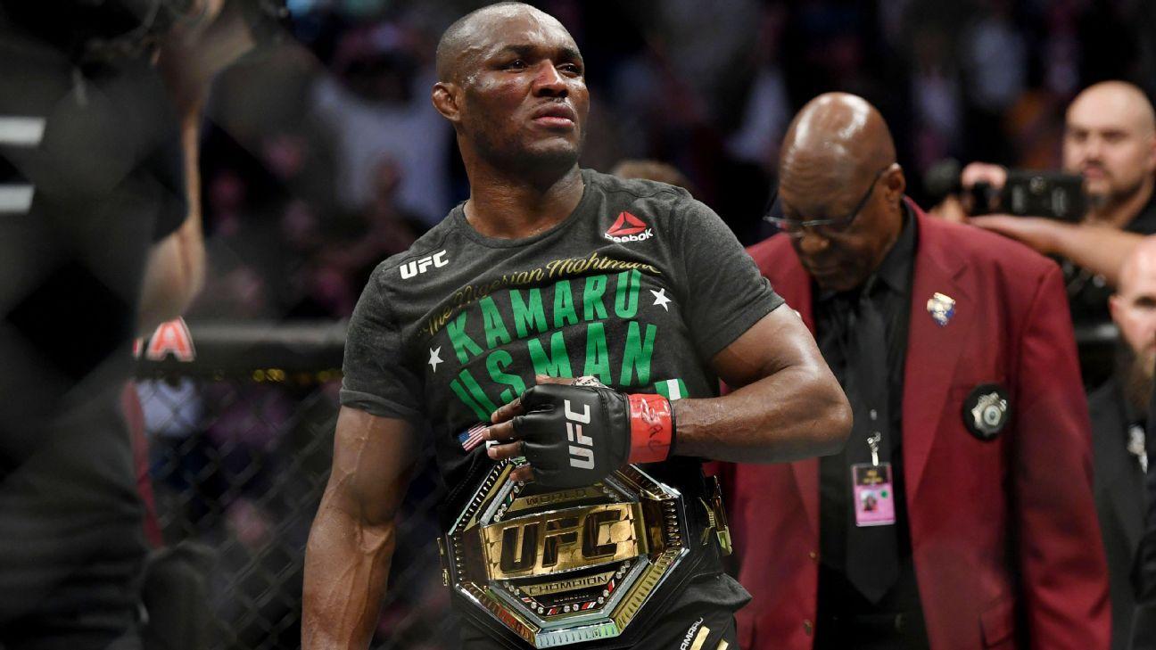 Kamaru Usman Jorge Masvidal make weight for UFC 251 welterweight showdown – ESPN