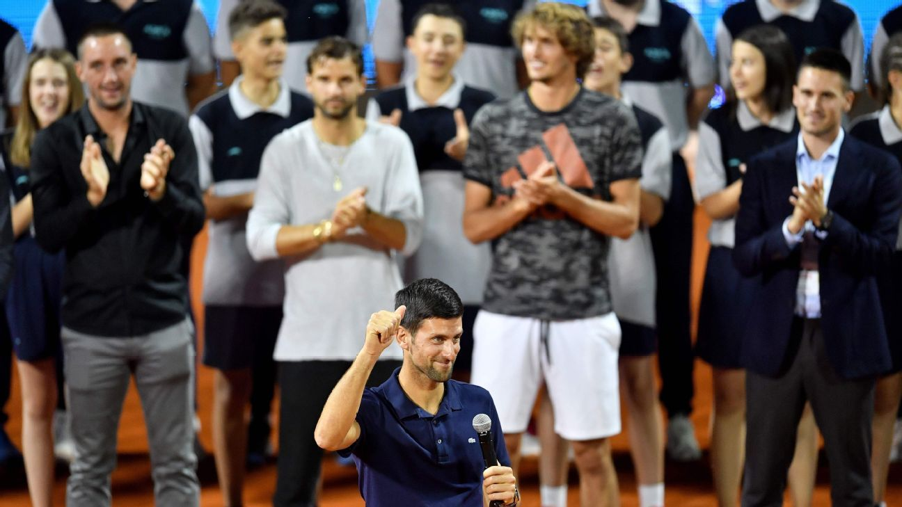 Emotional Novak Djokovic Says Charity Event In Serbia Reminiscent Of His Childhood