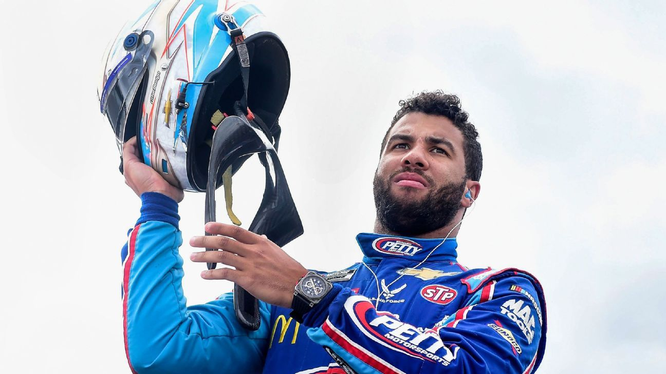 MJ, Hamlin to field car with Bubba Wallace driving