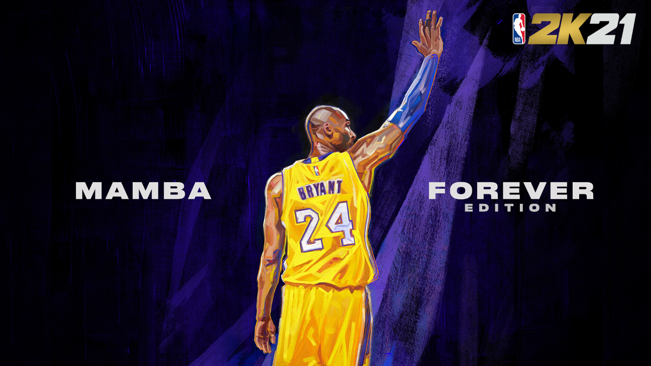 Kobe to be on two covers of NBA 2K21 edition