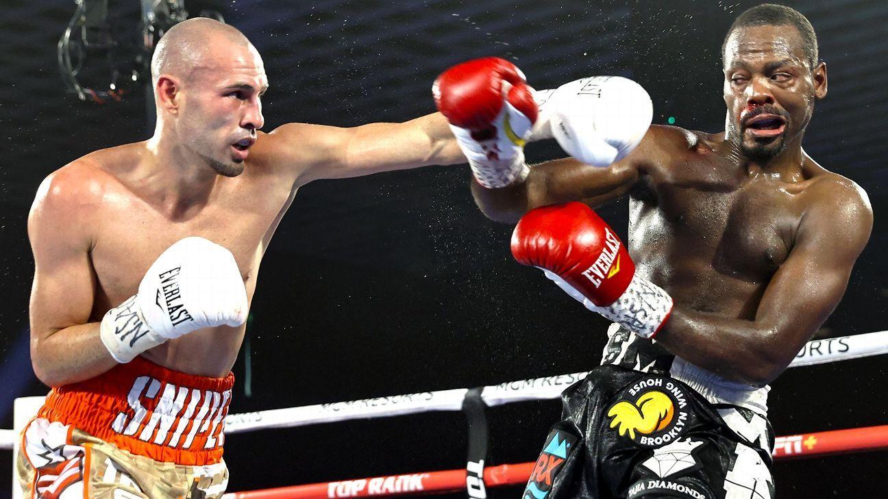 Former champion Pedraza dominates LesPierre