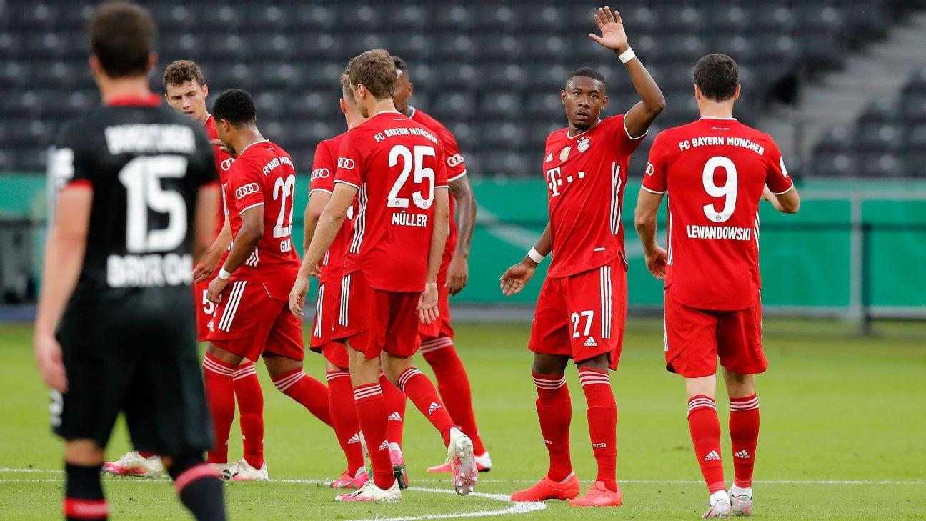 Bayer Leverkusen vs. Bayern Munich - Football Match Report - July 4, 2020 -  ESPN