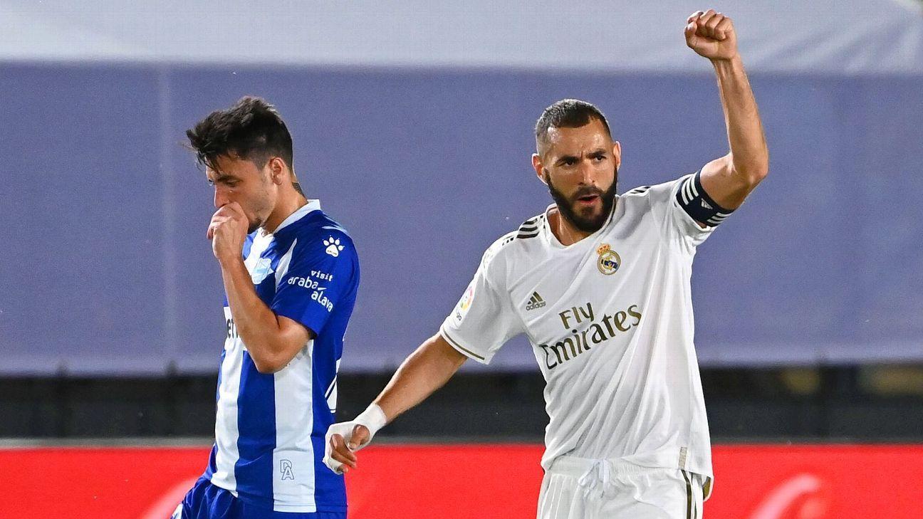 Real Madrid Vs Alaves Football Match Summary July 10 2020 Espn
