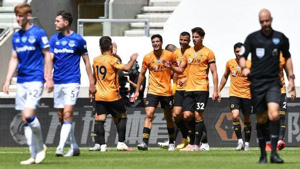 Wolverhampton Wanderers vs. Everton - Football Match ...
