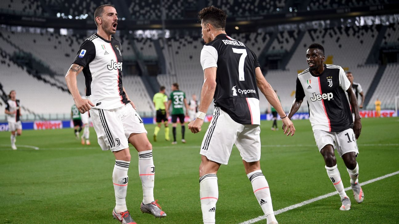 Cristiano presiona a Immobile y apunta a Lewandowski para la Bota de Oro