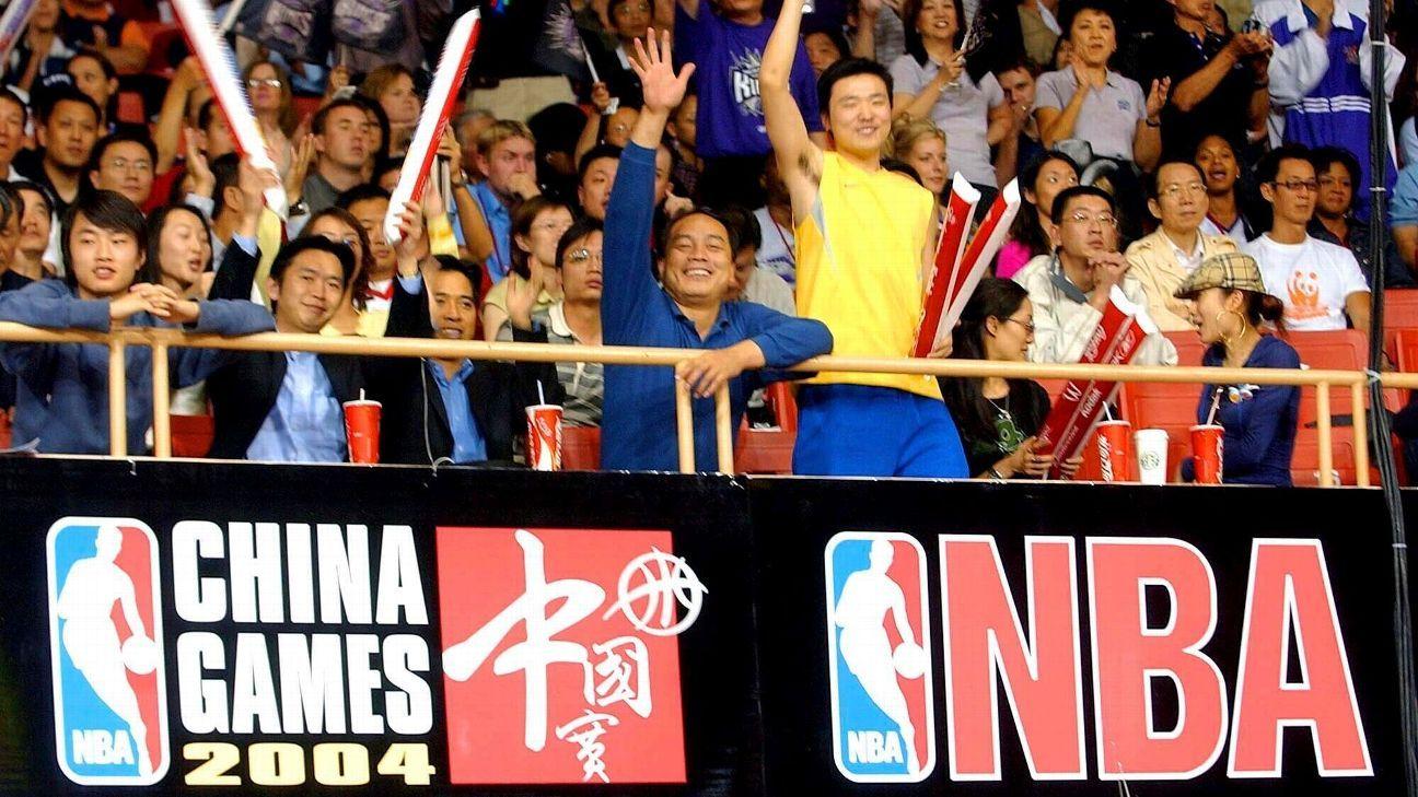 La NBA termina su relación con academia en China