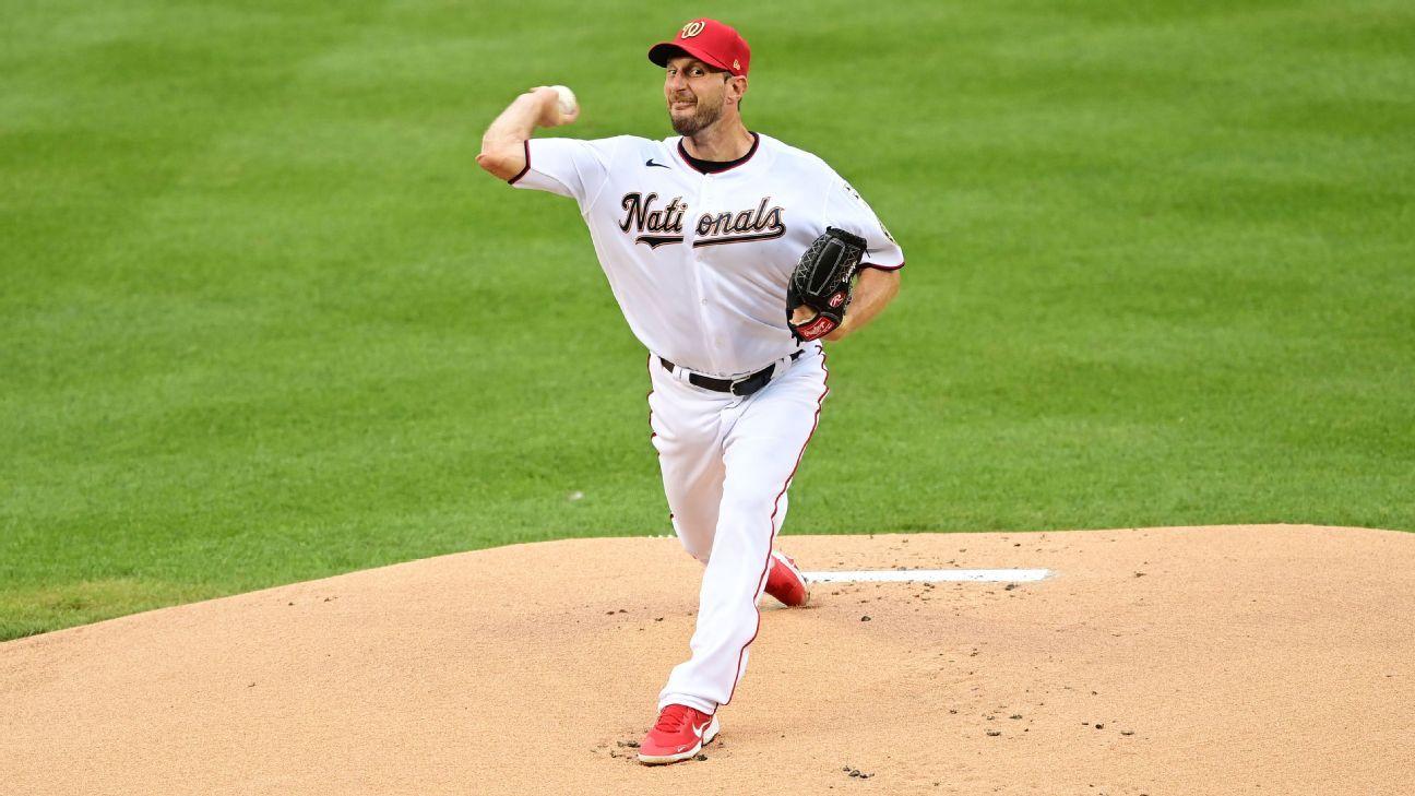 Scherzer leaves start vs. Mets after first inning