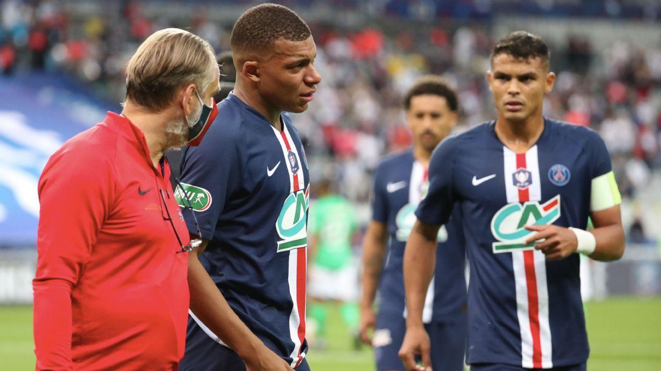 PSG hopeful on Mbappe for Champions League, fearful over Verratti - ESPN