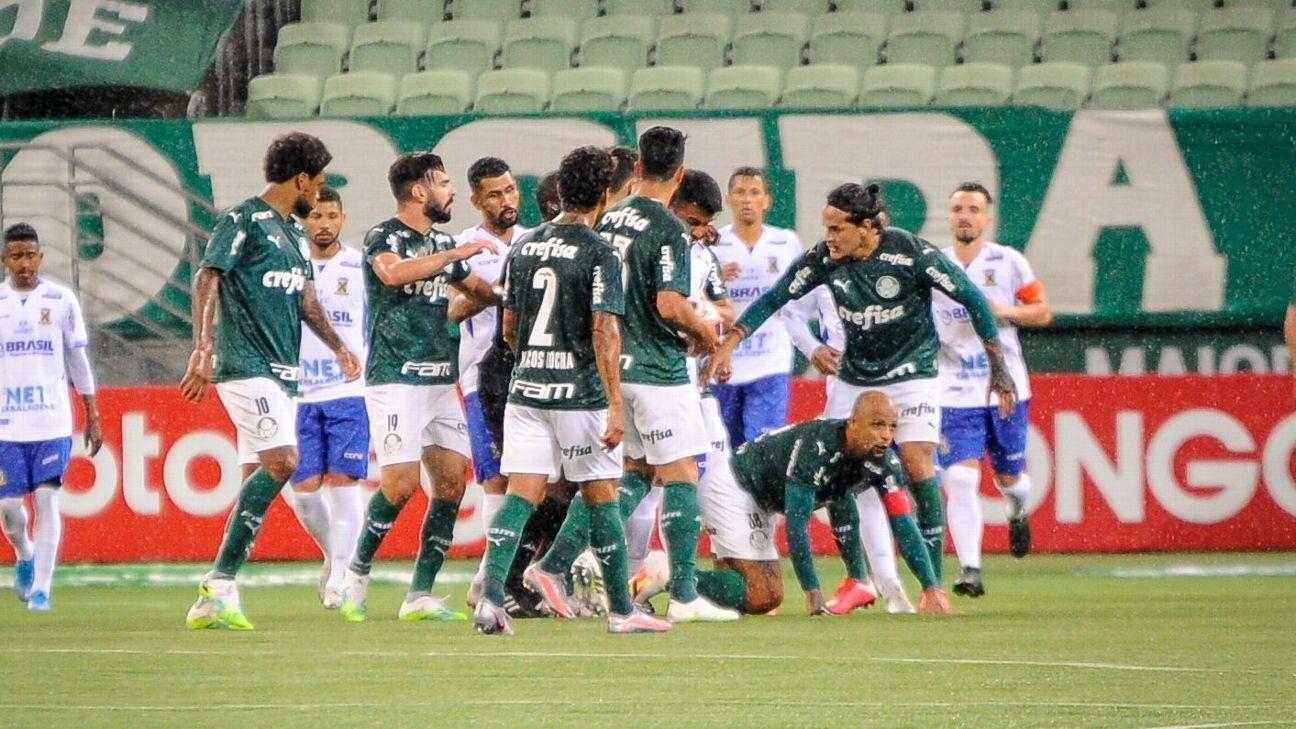 Palmeiras vence Santo André por 2 a 0 no Allianz Parque e vai à semifinal  do Campeonato Paulista
