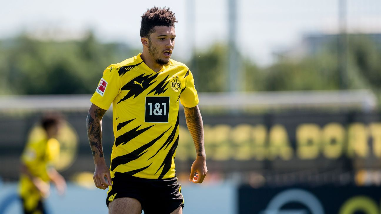Dortmund chief expects Man United target Jadon Sancho to stay - ESPN