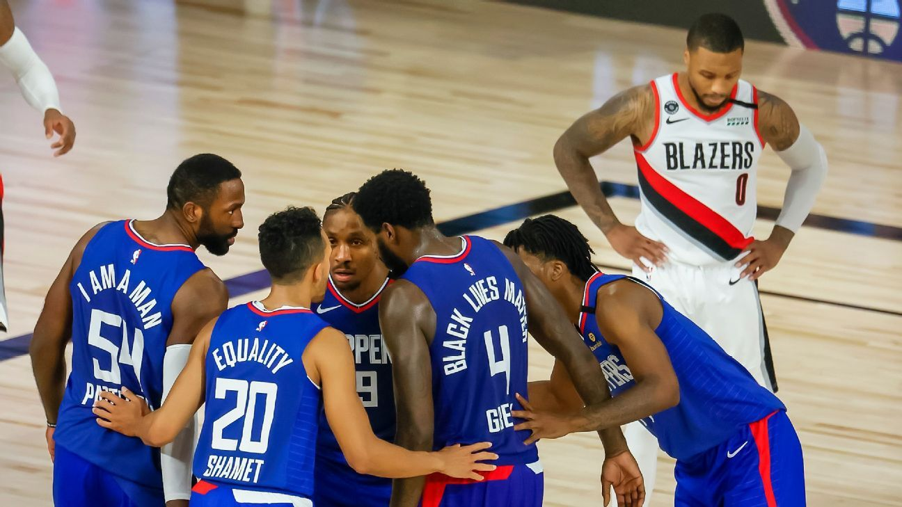 After Missing Two Key Free Throws Trail Blazers Damian Lillard Takes Jabs On Social Media From Short Handed Clippers