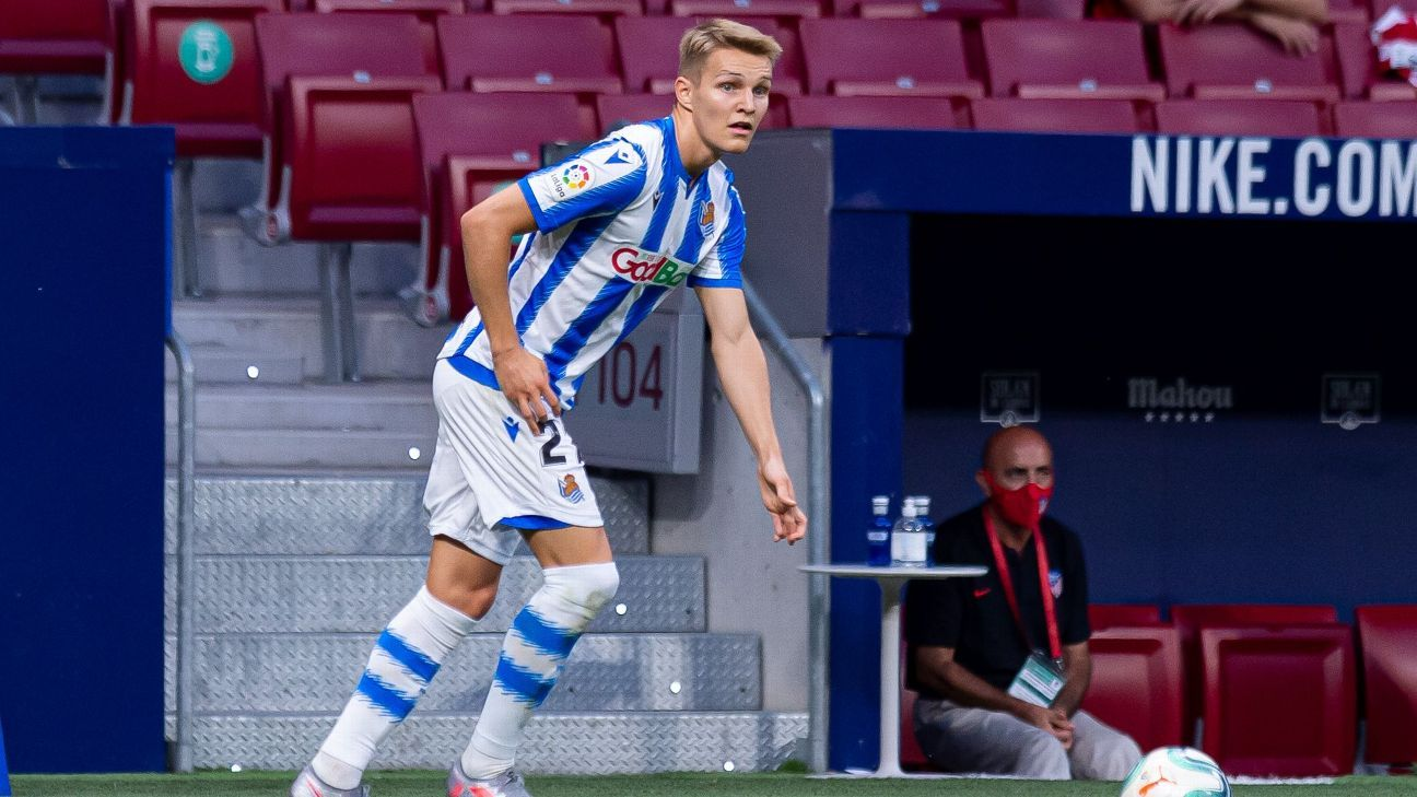 Sources: Madrid end Odegaard's loan spell early