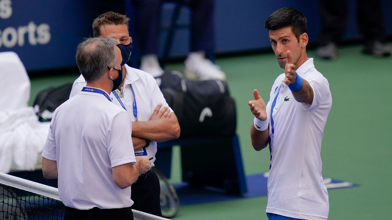 How Novak Djokovic Was Defaulted From The 2020 Us Open