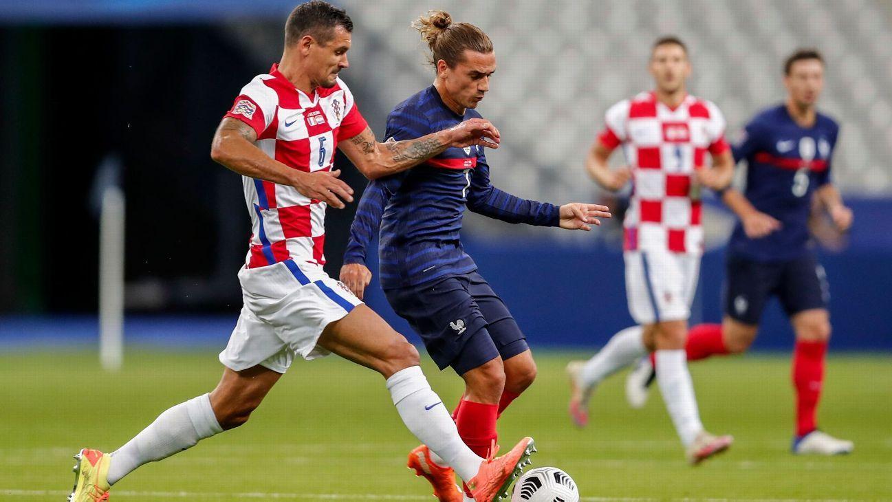 Francia vs. Croacia - Reporte del Partido - 8 septiembre, 2020 - ESPN