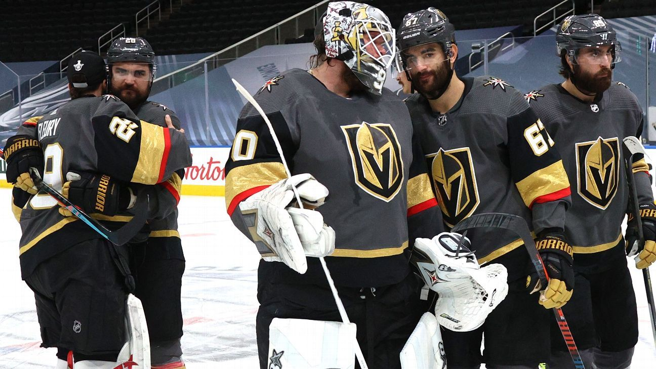 Built to win now Vegas Golden Knights the West's top seed fail to reach Stanley Cup Final – ESPN