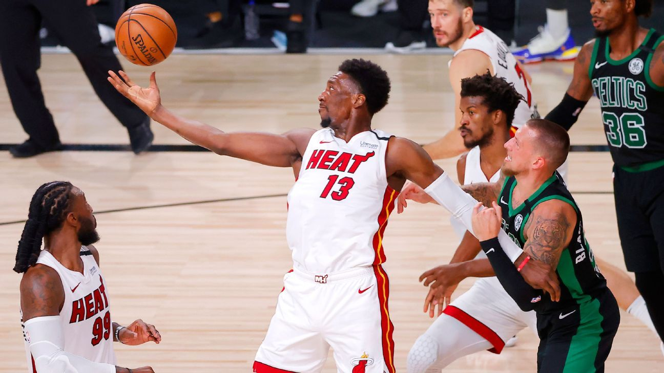 More Bam and a third-quarter blitz: How Miami got within two wins of the Finals