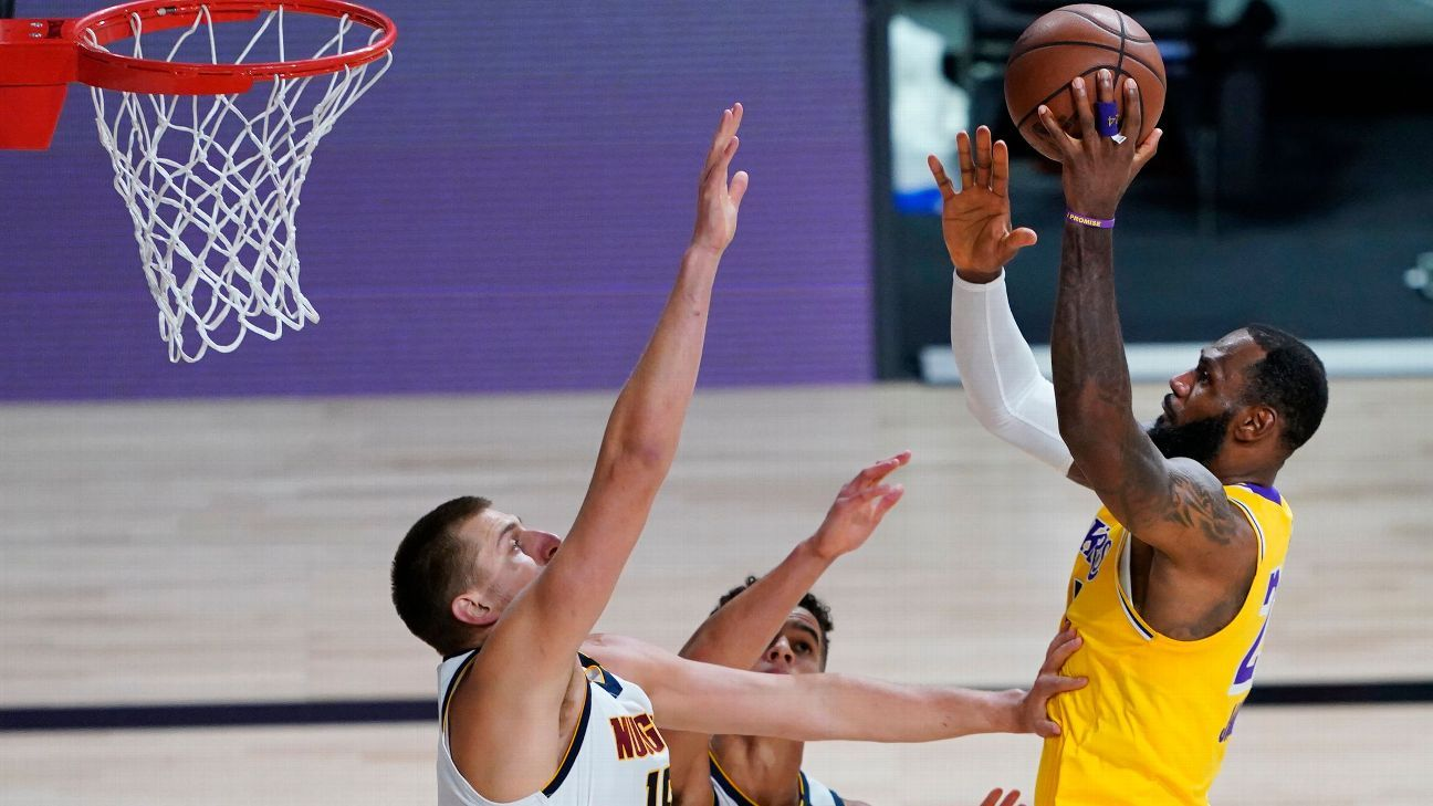 Los Angeles Lakers' LeBron James has nothing but respect for resilient Denver Nuggets - ESPN