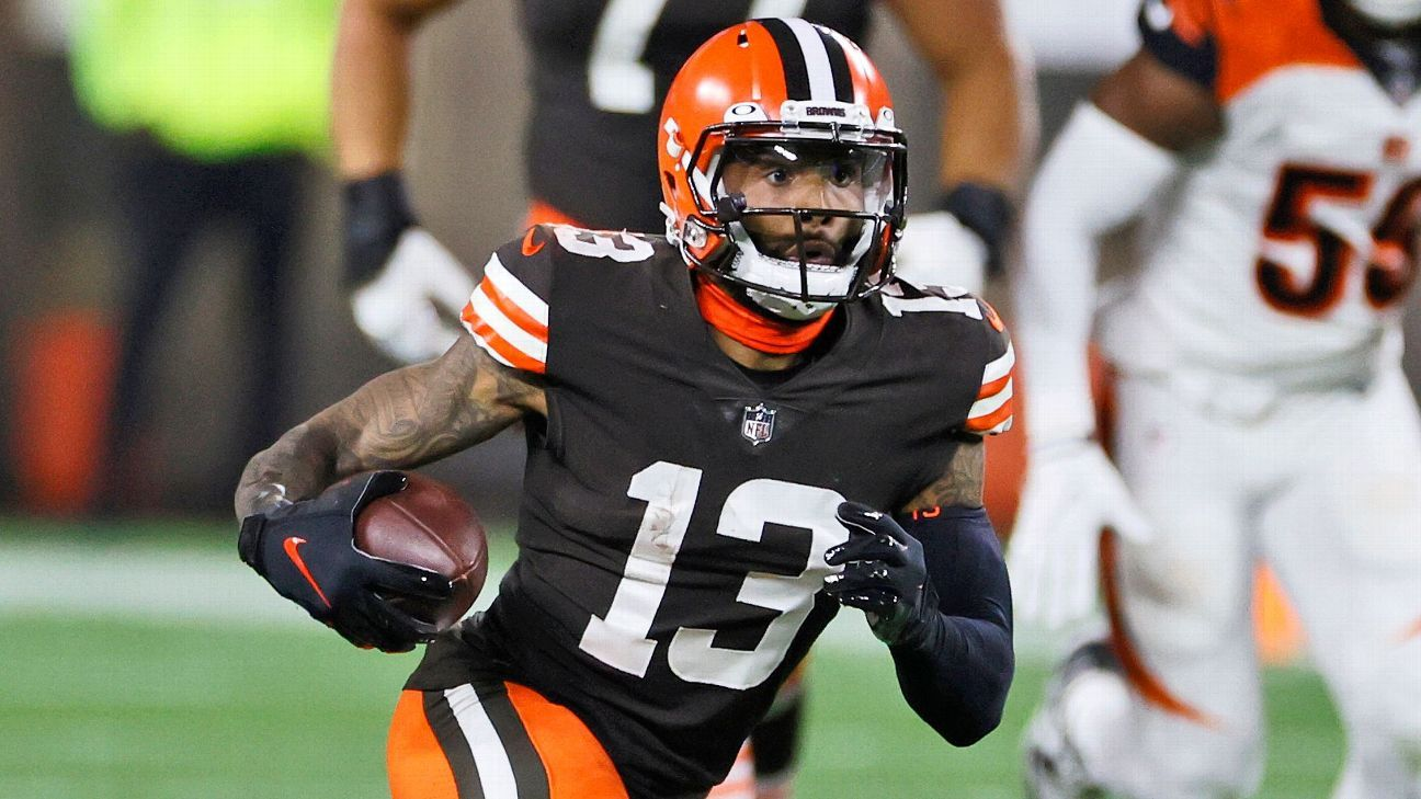 Source: Browns expect OBJ to play vs. Bears thumbnail