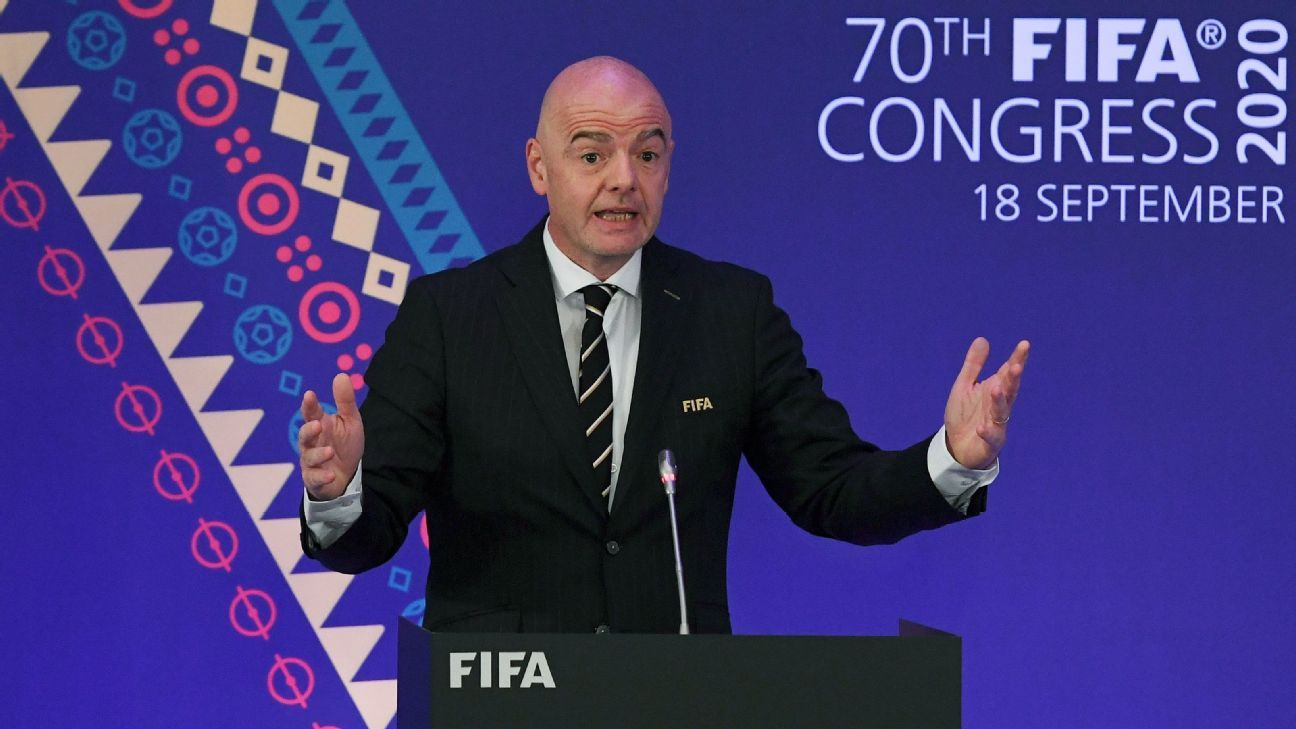 FIFA president Gianni Infantino - Serie A hasn't been exciting - ESPN