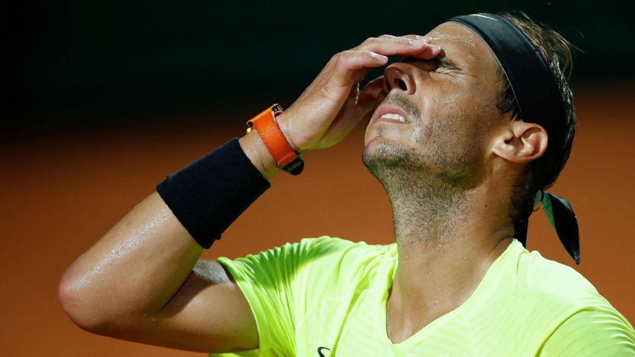 Nadal beaten by Schwartzman in Rome quarters