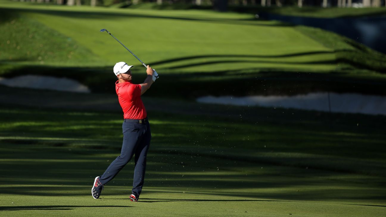 Wolff, 21, leads U.S. Open by 2 shots after 65