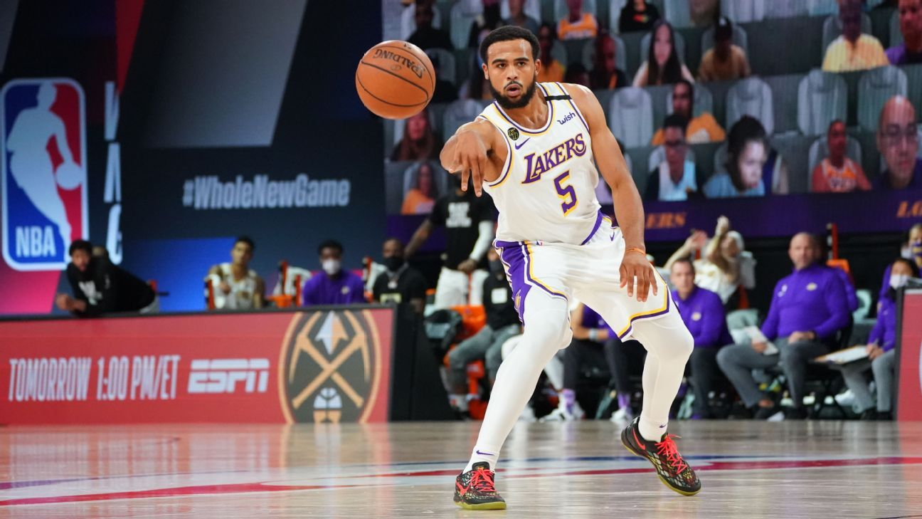 Los Angeles Lakers' Talen Horton-Tucker to have thumb surgery to repair torn ligaments