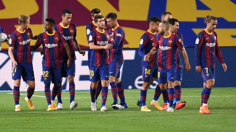 Fati stars in 4-0 win as Barca begin Koeman era