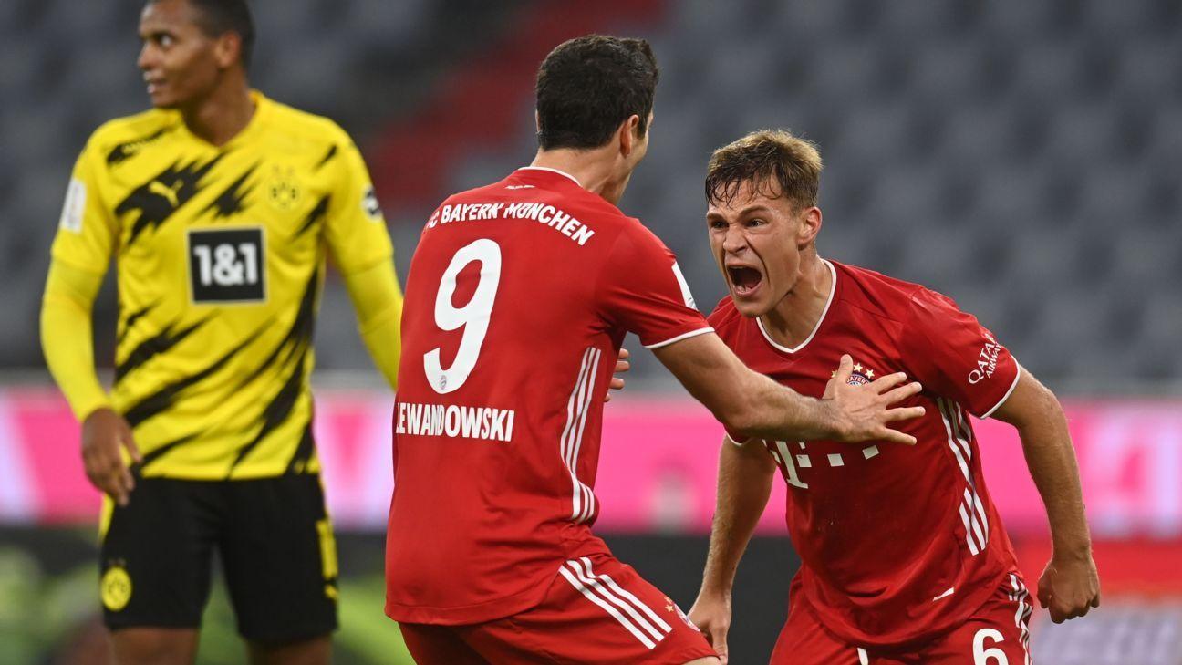 Bayern Munich Vs Borussia Dortmund Football Match Report September 30 2020 Espn