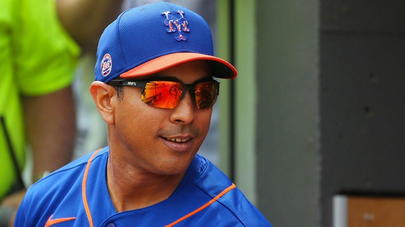 New York Mets: Luis Rojas no regresará como dirigente para 2022